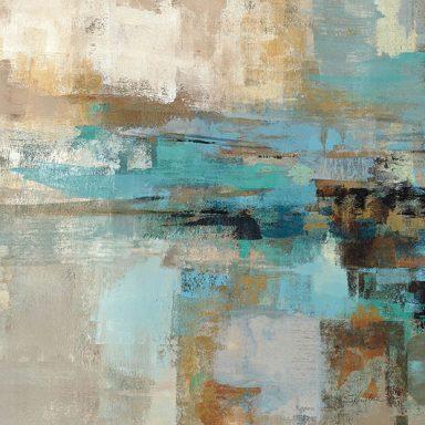 Morning Fjord Square Silvia Vassileva Wall Art Canvas Print