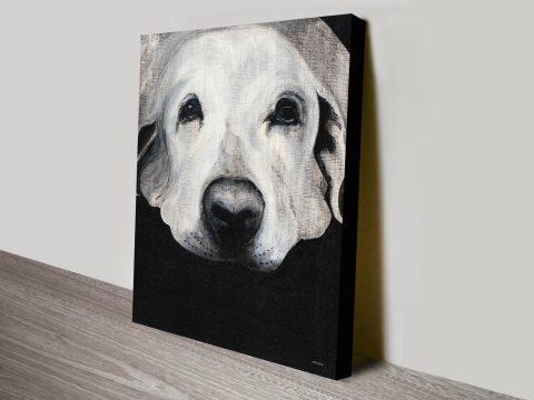 Sparta The Labrador Canvas Art Prints