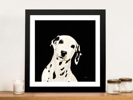 Dakota Dog II Framed Wall Art