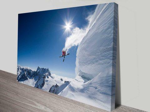 thrill of the snow online wall art australia