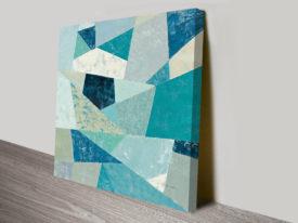 Silvia Vassileva Circular Pattern Abstract Canvas Print