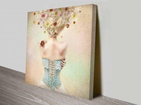 heavenly body decor photo canvas wall art
