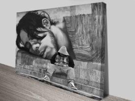 Self Reflecting Graffiti Modern Street Art Prints