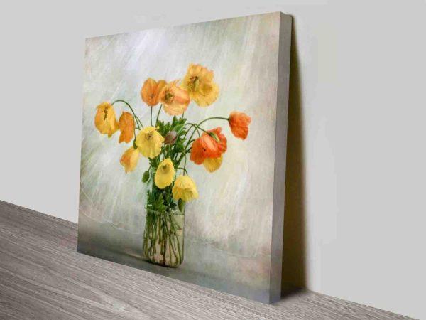 Wilted Flower Natural Landscape Prints