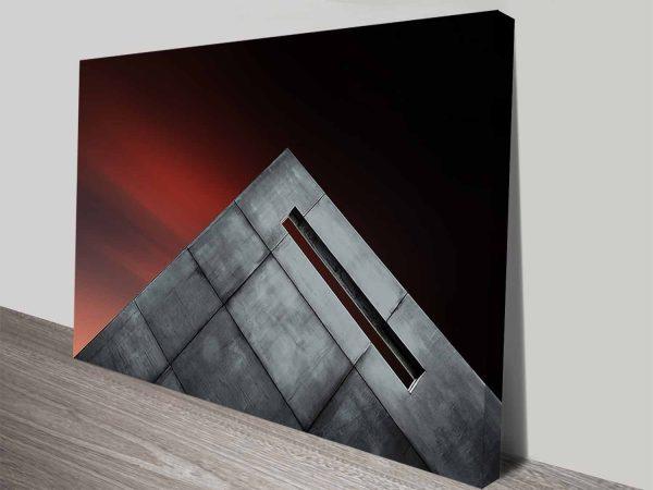 the sharp corner print canvas cheap online