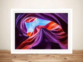 Magical Lower Antelope Canyon Canvas Art Print