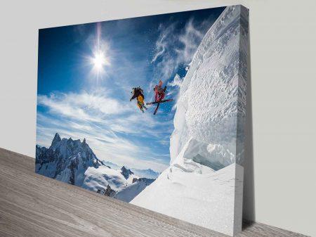 icy extreme custom canvas wall art