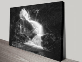 Lainbach Waterfalls Canvas Art Prints
