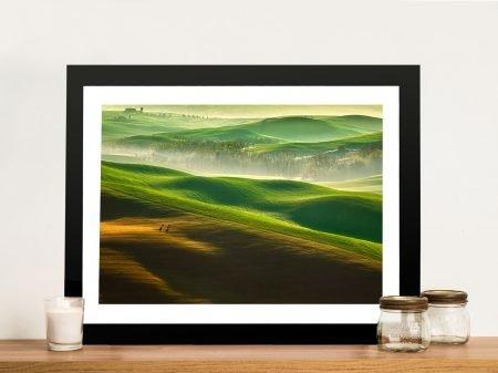 The Green Dream Framed Wall Art Print