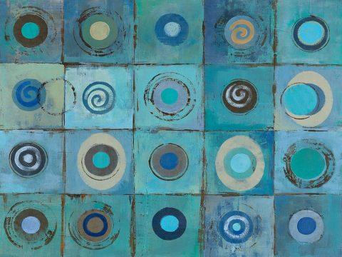 Underwater Mosaic-Crop-Silvia Vassileva Canvas Print