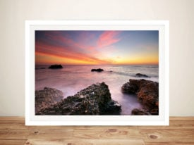 Rocky Bay Framed Wall Art