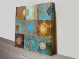 Silvia Vassileva Circular Pattern Abstract Canvas Prints