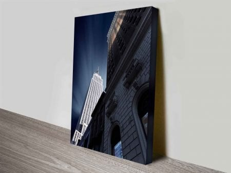 the tallest tower photo to canvas print