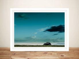 VW eetle Picture Framed Wall-Art