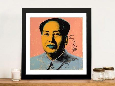 Fine Art Print Andy Warhol's Mao Tse Tung