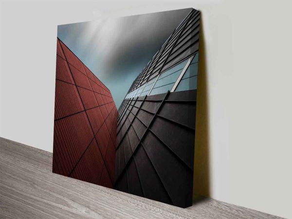 corner office cheap photo prints on canvas