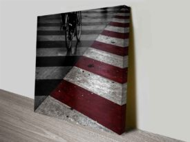 red striped reflection cheap photo print online