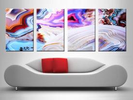 Elena Kulikova 4 Split Canvas Art