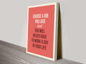jobs Inspirational wall art