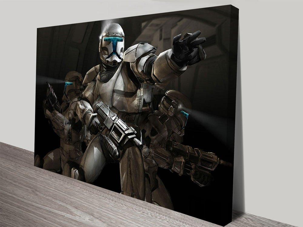 Action Trooper Star Wars Art