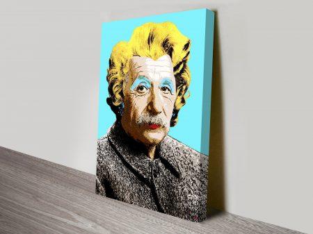 Albert Einstein Vintage Pop Art
