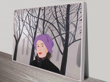 Alex Katz January Iv Vintage Pop Art