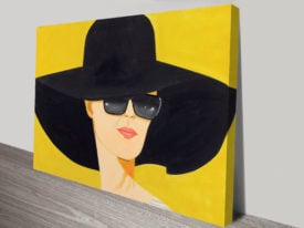 Alex Katz Give Me Tomorrow Print on Canvas Wall Art