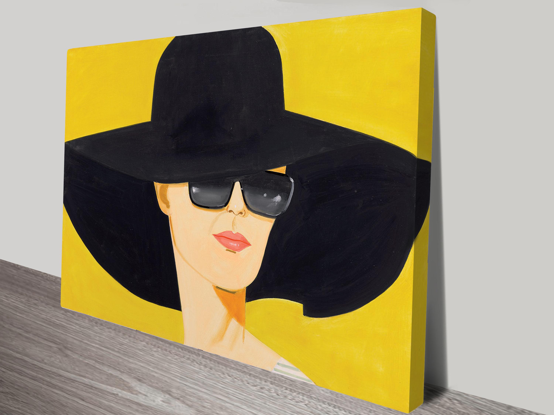 Alex Katz Give Me Tomorrow Print on Canvas Wall Art