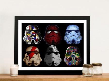 Artistic Troopers Stormtrooper Framed Wall Art