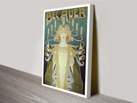 Alphonse Mucha-Art-Nouveau vintage advertising poster