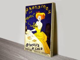 Amandines de Provence poster by Leonetto Cappiello Poster Print