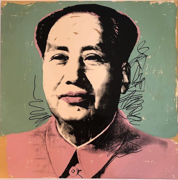 Andy Warhol Mao Pop Art Print