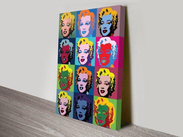 Buy Warhol Marilyn Monroe Pop Art Online