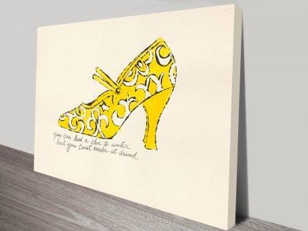 Andy Warhol Shoe 1 Wall Vintage Pop Art