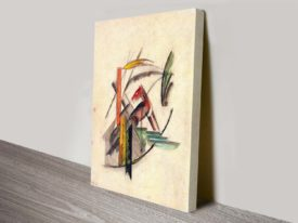 Animal by Franz Marc German Expressionist Abstract Ready to Hang Art