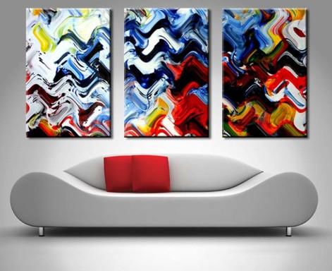 aphrodite of lust 3 panel canvas