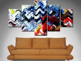 dark exclusion wall art canvas print