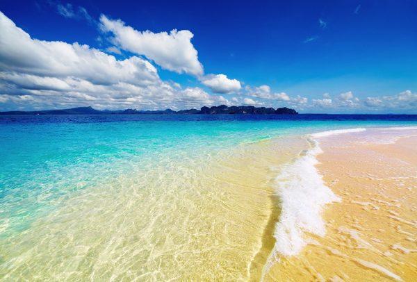 Aquatopia beach canvas print
