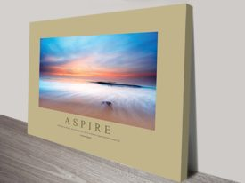 Aspire Motivational Print