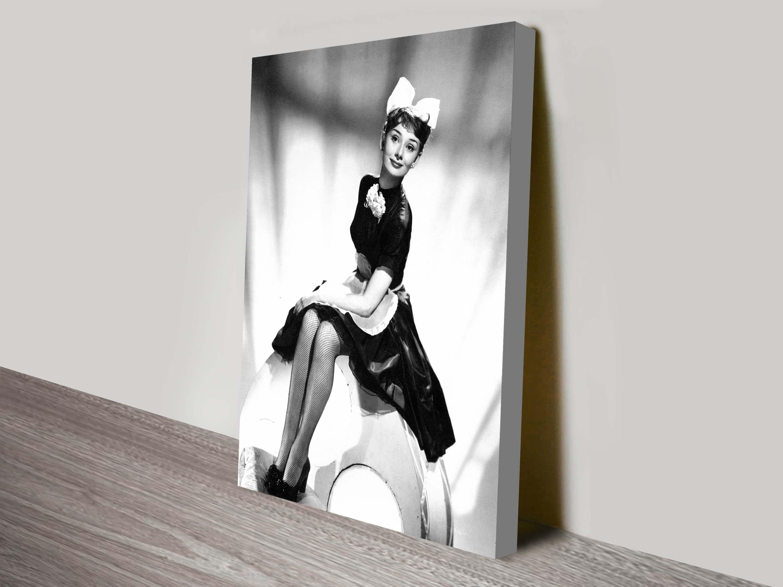 Audrey Hepburn Canvas Art Picture Print Australia