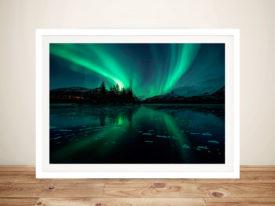 Aurora Northern Lights Iceland Photographic Artwork