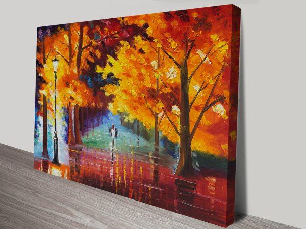 Autumn of Passion Leonid Afremov Print
