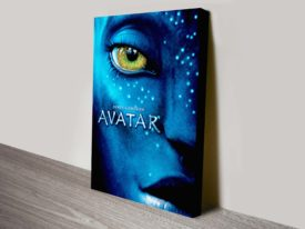 Avatar Movie Poster canvas Print