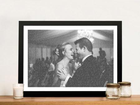 A Love Story Photo Overlay Custom Word Art Sydney Australia