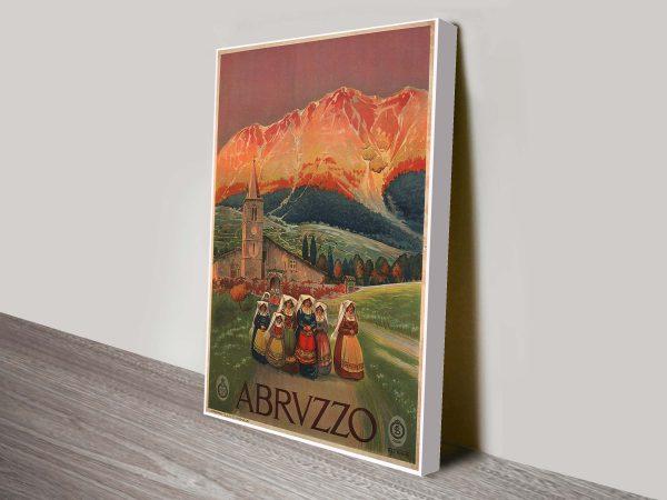 Abruzzo Vincenzo poster print