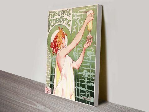 Absinthe Vintage Poster art