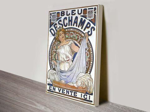Alphonse Mucha nouveau art Canvas