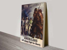 American liberty bonds propaganda poster
