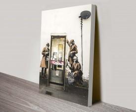 Banksy phone tap street art