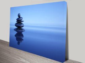 Blue Stones Canvas Printing Sydney